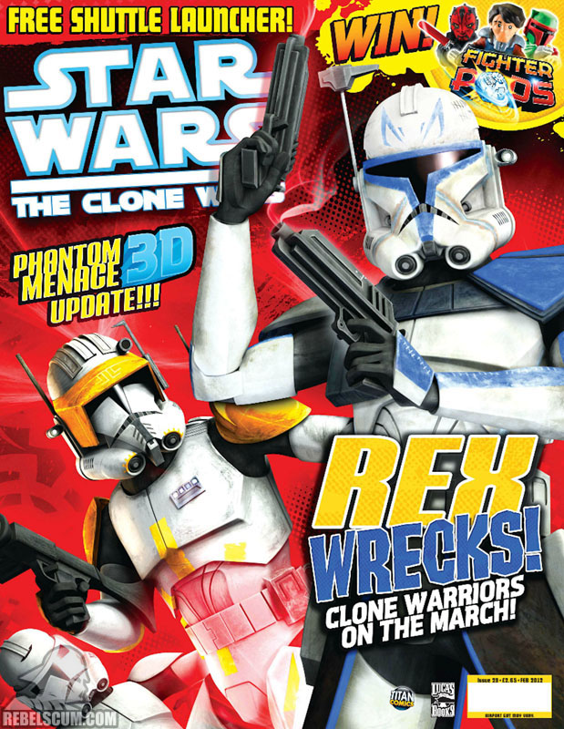 The Clone Wars Comic, Vol 6 29 February 2012