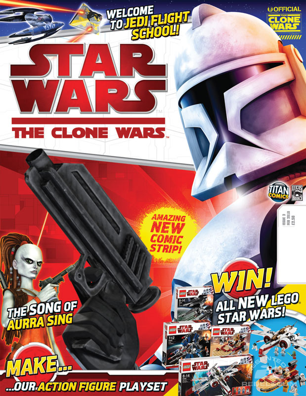 The Clone Wars Comic 3 February 2010