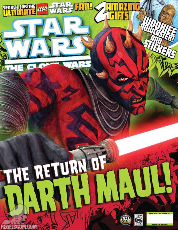 The Clone Wars Comic, Vol 6 #30 March 2012
