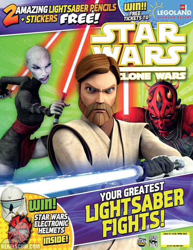 The Clone Wars Comic, Vol 6 31 April 2012