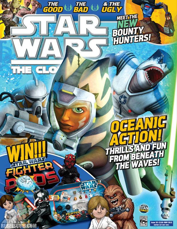 The Clone Wars Comic, Vol 6 32 May 2012