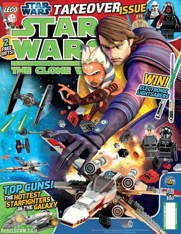 The Clone Wars Comic, Vol 6 #33 June 2012