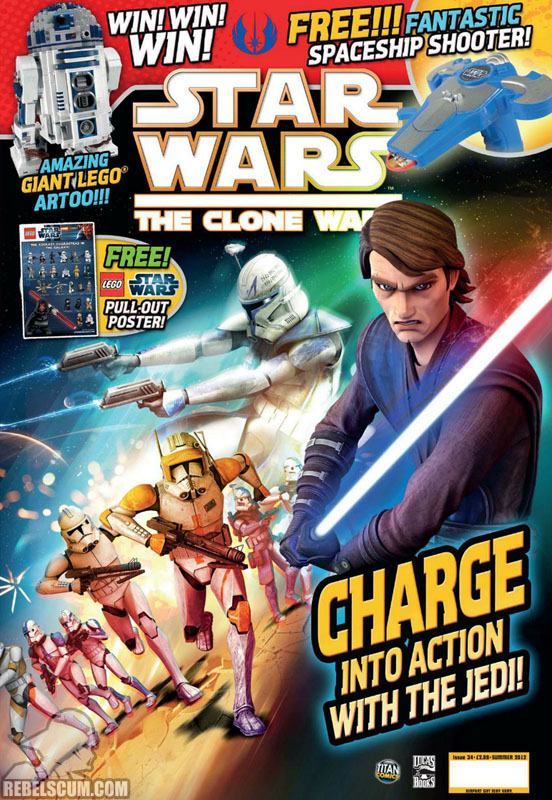 The Clone Wars Comic, Vol 6 34 Summer 2012