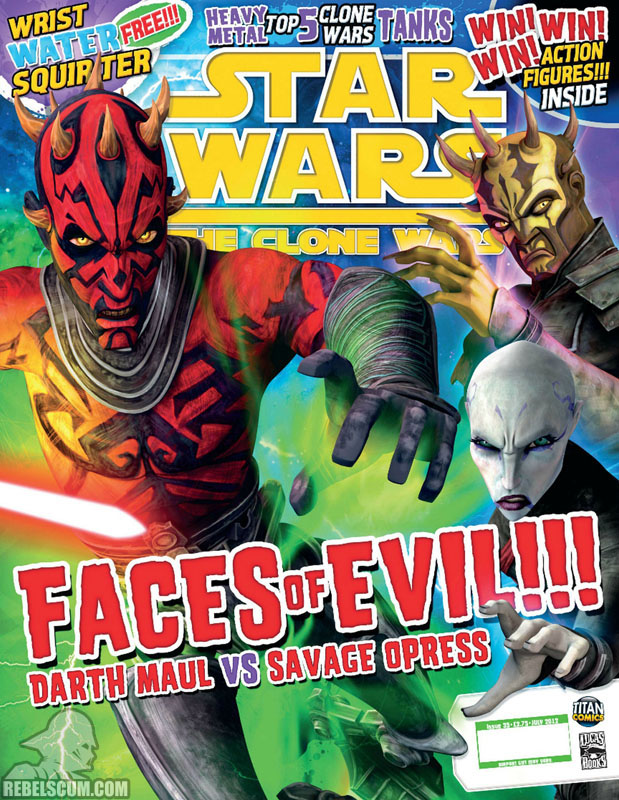 The Clone Wars Comic, Vol 6 35 July 2012