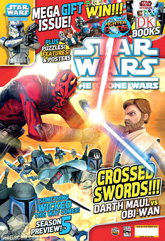 The Clone Wars Comic, Vol 6 36 August 2012