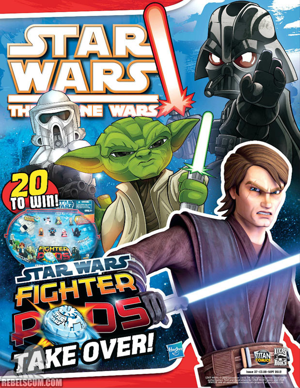 The Clone Wars Comic, Vol 6 37 September 2012