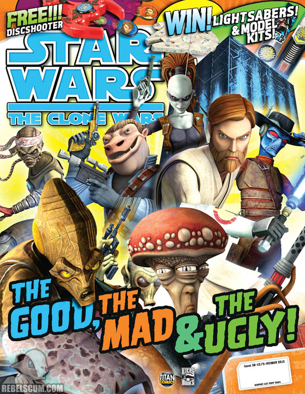 The Clone Wars Comic, Vol 6 38 October 2012
