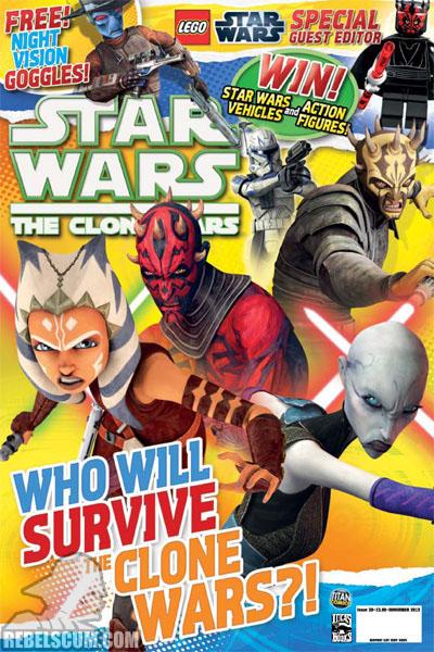 The Clone Wars Comic, Vol 6 #39 November 2012