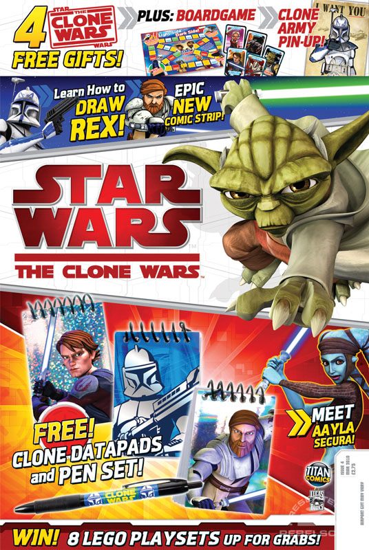 The Clone Wars Comic 4 February 2010
