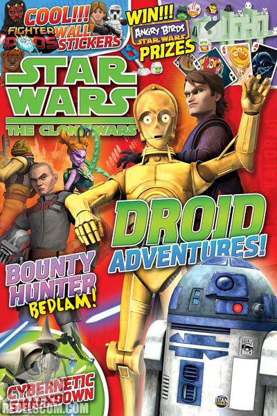 The Clone Wars Comic, Vol 6 41 January 2012