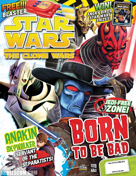 The Clone Wars Comic, Vol 6 44 April 2013