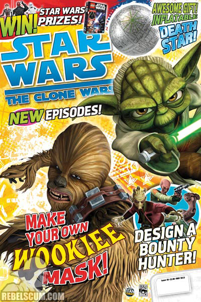 The Clone Wars Comic, Vol 6 45 May 2013