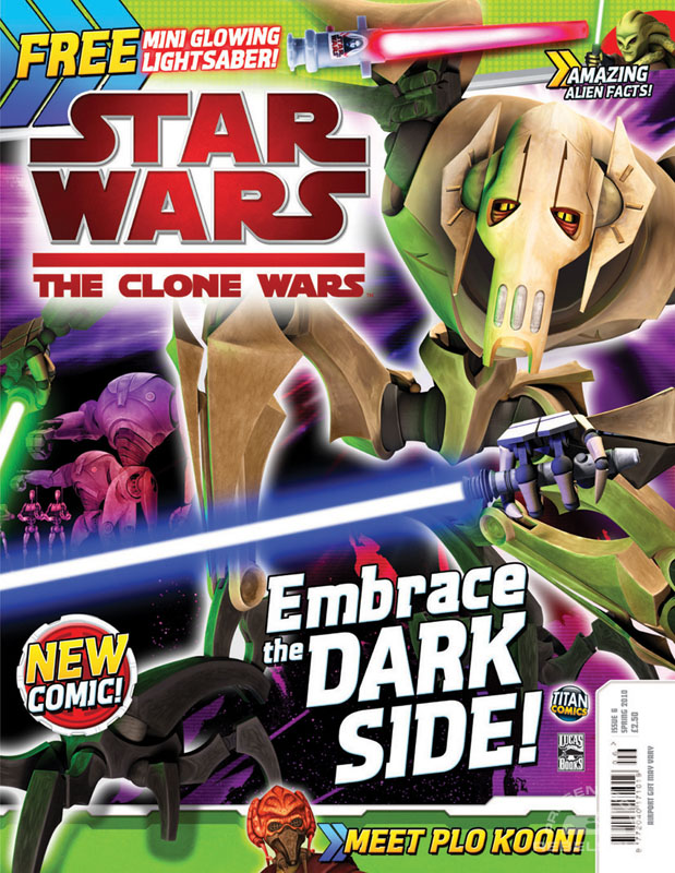 The Clone Wars Comic 6 April 2010