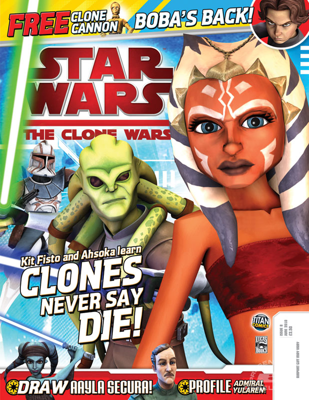 The Clone Wars Comic 8 June 2010