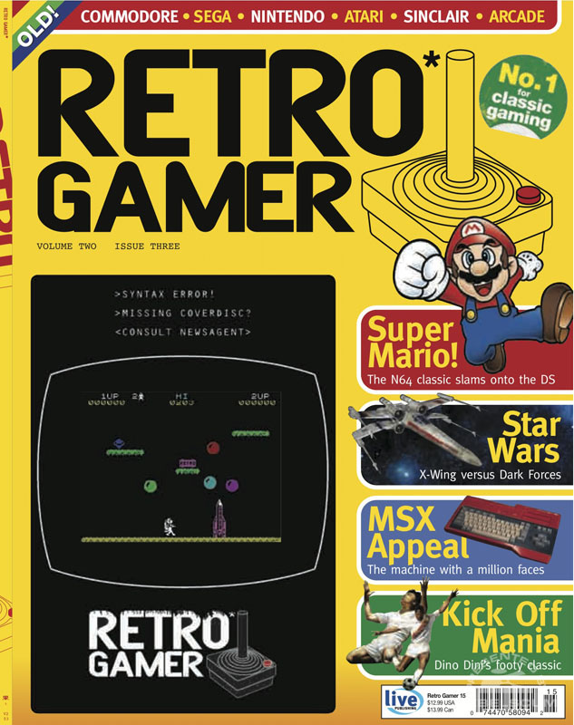 Retro Gamer #15 March 2005