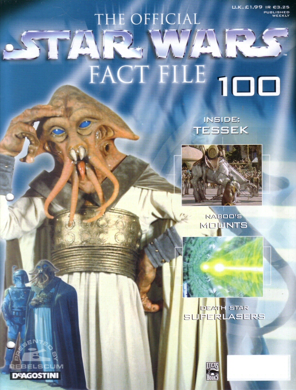 Official Star Wars Fact File 100