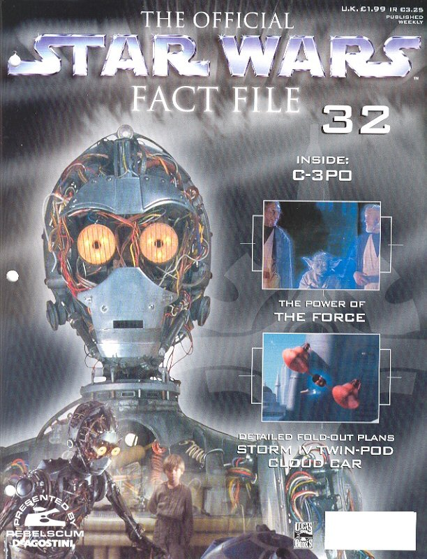 Official Star Wars Fact File #32