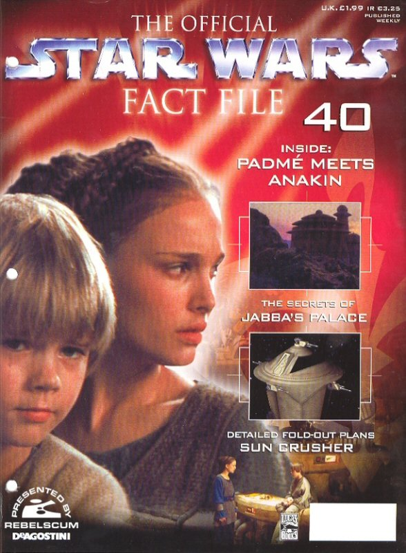 Official Star Wars Fact File #40