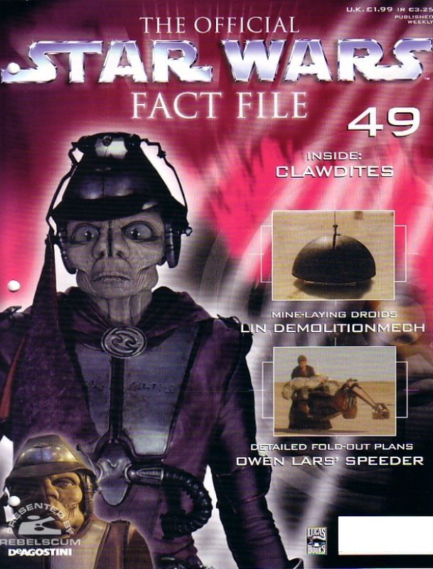 Official Star Wars Fact File 49