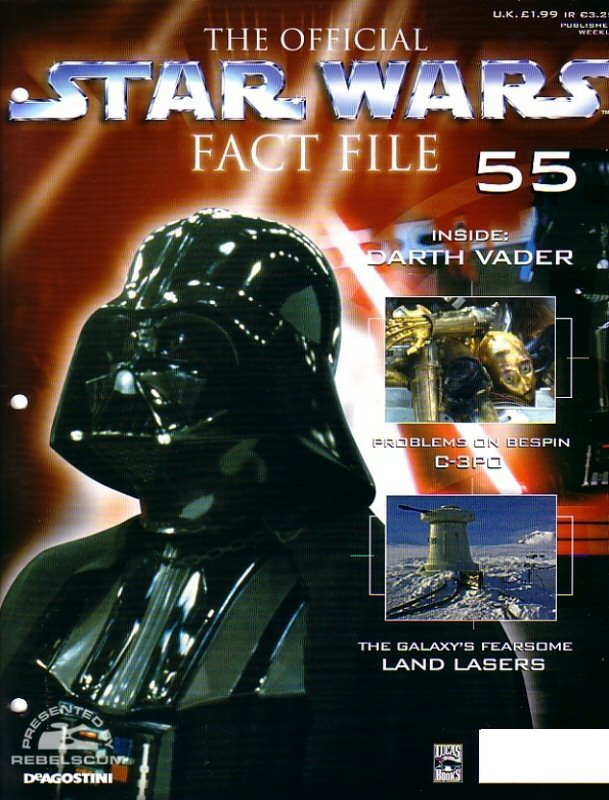 Official Star Wars Fact File #55