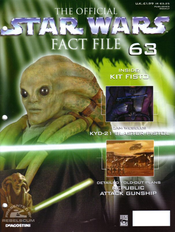 Official Star Wars Fact File #63