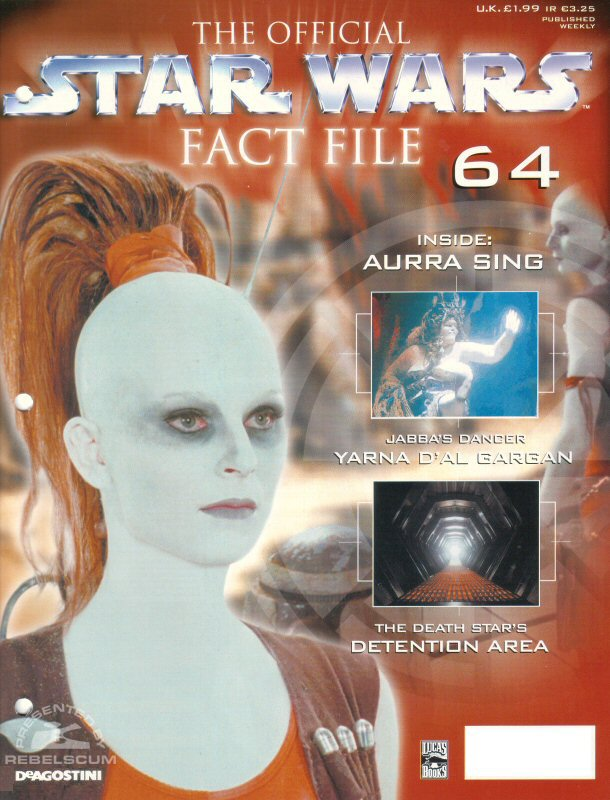 Official Star Wars Fact File #64