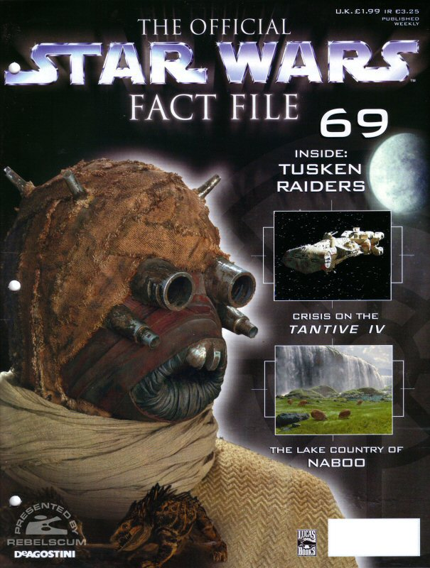 Official Star Wars Fact File 69