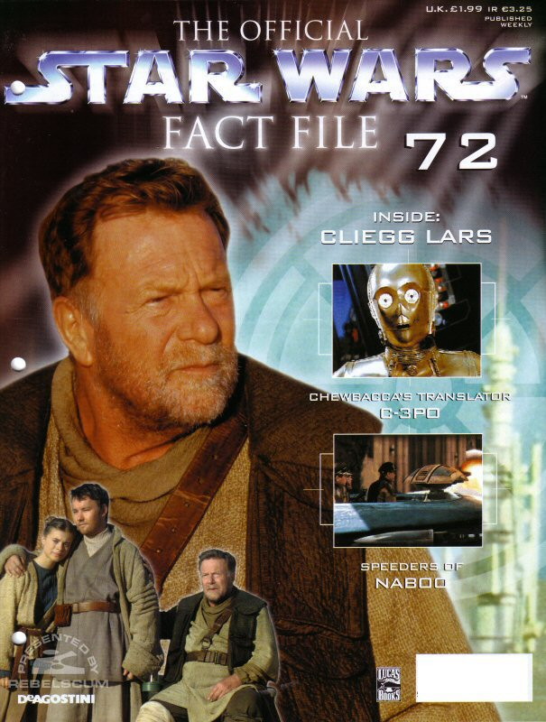 Official Star Wars Fact File #72