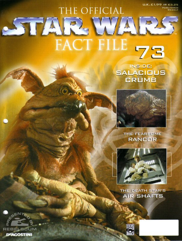 Official Star Wars Fact File 73