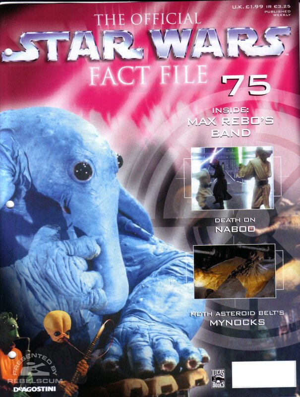 Official Star Wars Fact File #75