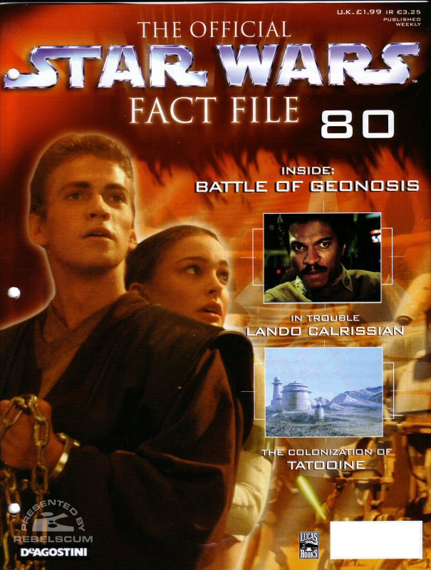 Official Star Wars Fact File #80