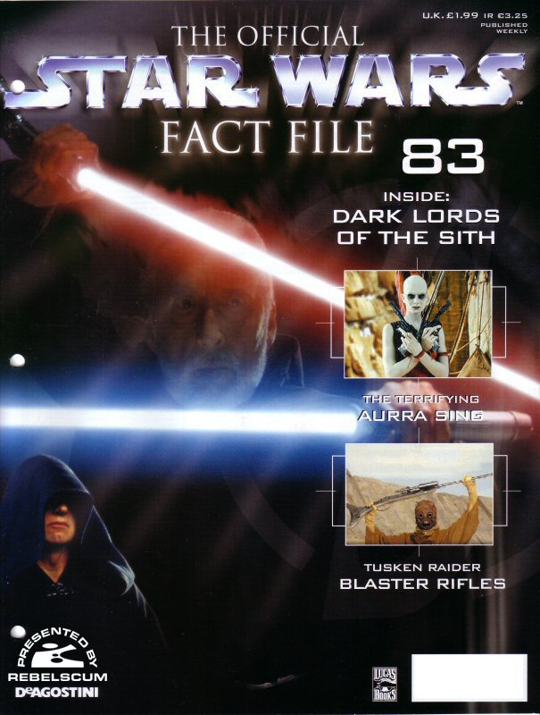 Official Star Wars Fact File 83