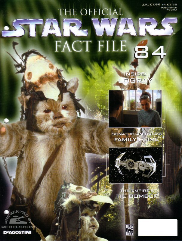 Official Star Wars Fact File 84