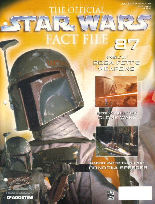Official Star Wars Fact File #87