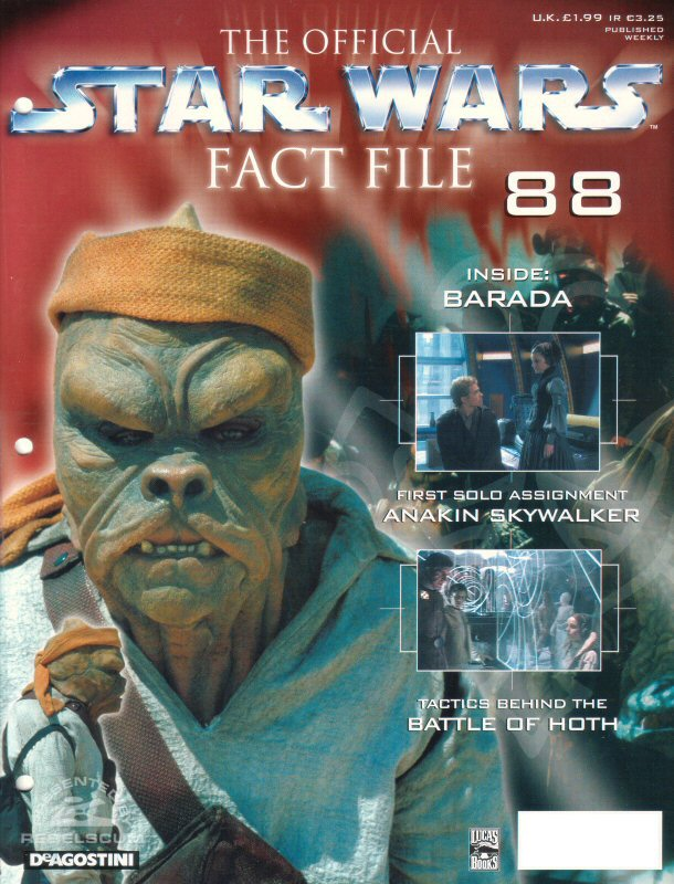 Official Star Wars Fact File 88