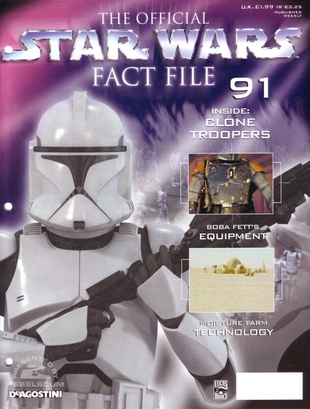 Official Star Wars Fact File #91