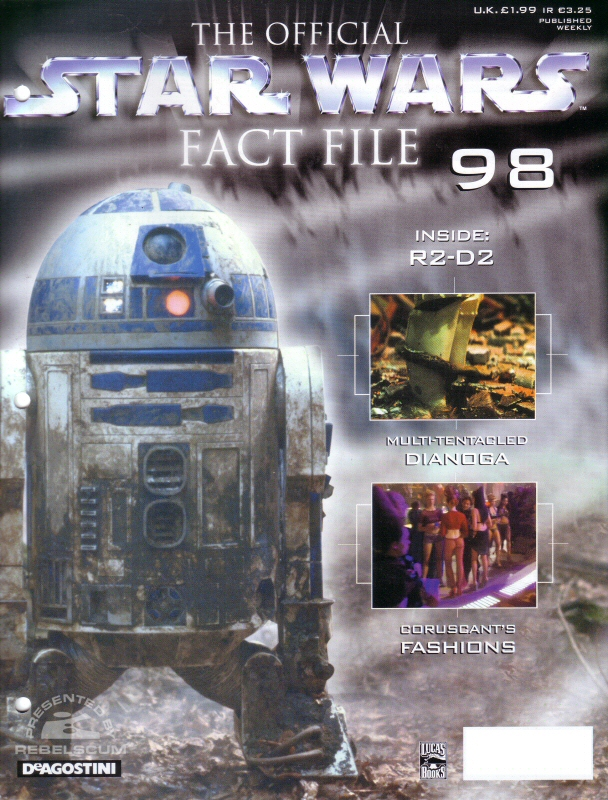 Official Star Wars Fact File 98