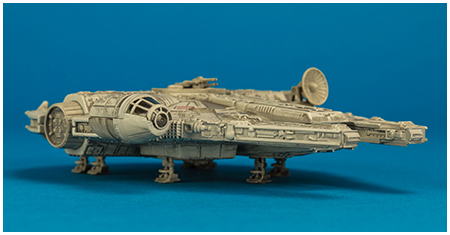 Millennium Falcon (Return of the Jedi) - Hot Wheels Elite adult collectible from Mattel