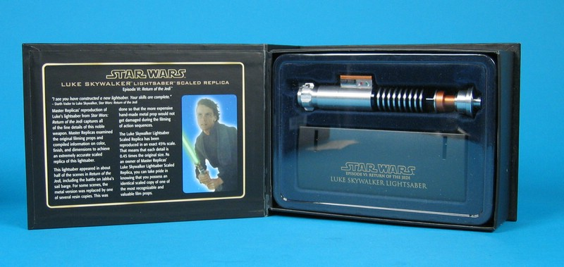 Luke Skywalker Lightsaber .45 Scale Replica