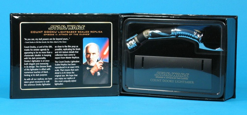 Count Dooku Lightsaber .45 Scale Replica