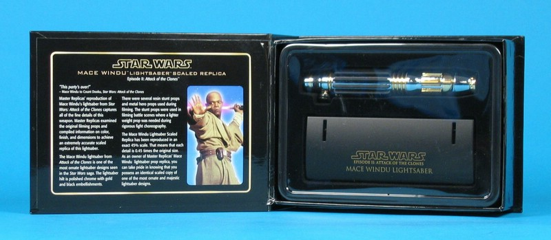 Mace Windu Lightsaber .45 Scale Replica