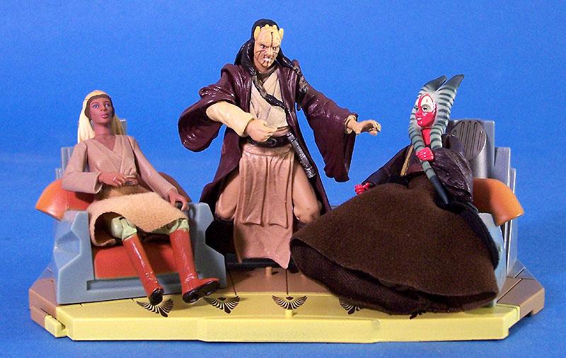 Jedi High Council Scene III (Stass Allie, Agen Kolar and Shaak Ti)