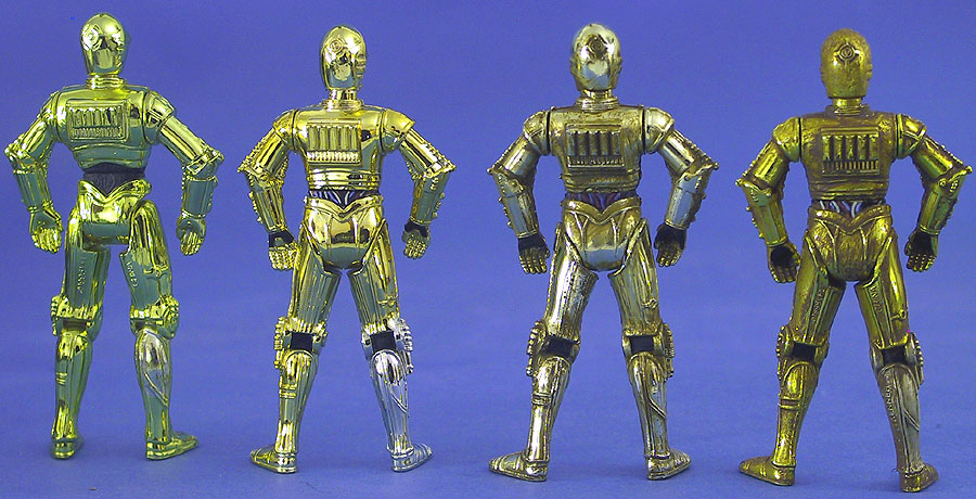 Original C-3PO | Millennium Minted Coin C-3PO | Purchase of the Droids C-3PO | ''Removable Limbs'' C-3PO