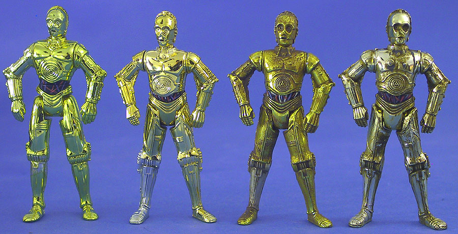 Original C-3PO | Millennium Minted Coin C-3PO | ''Removable Limbs'' C-3PO | Purchase of the Droids C-3PO