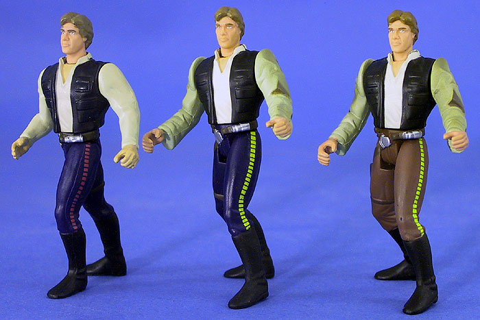 Han Solo | Han Solo in Endor Gear (Blue pants) | Han Solo in Endor Gear (Brown pants)