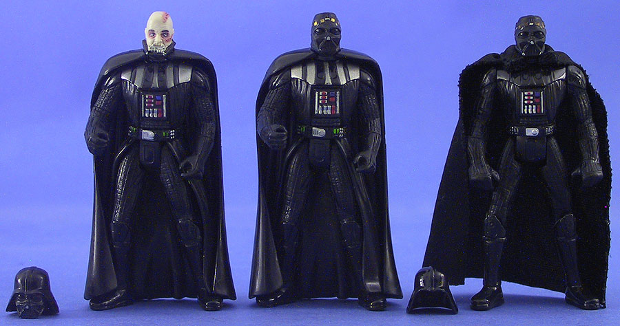 Darth Vader (Removable Helmet) | Darth Vader (Removable Dome) | Darth Vader (Complete Galaxy)