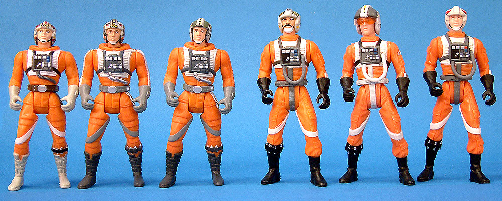Luke Skywalker | Wedge Antilles I | Wedge Antilles II | Biggs Darklighter | Wedge Antilles III | Rebel Alliance Pilot