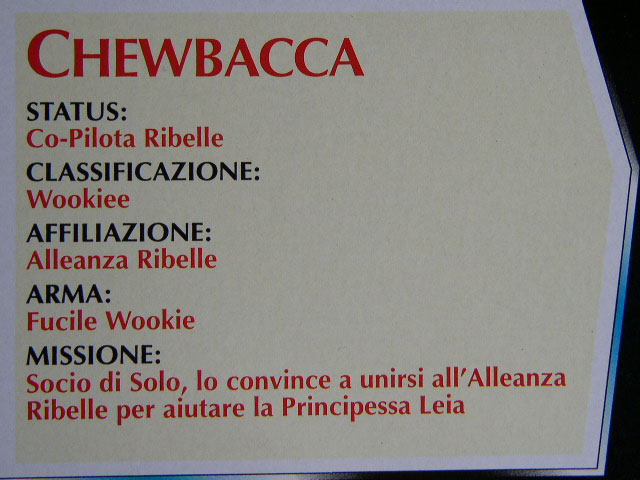 Italian Card Version