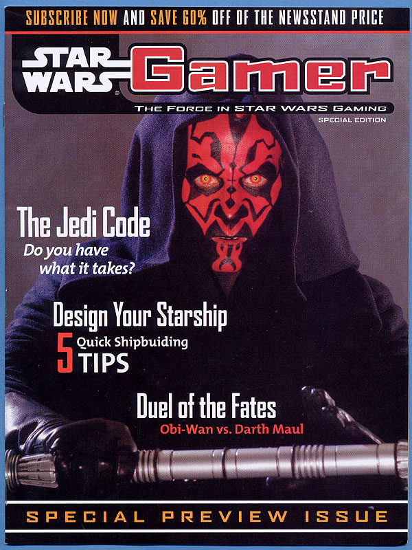 STAR WARS GAMER Special Preview Issue