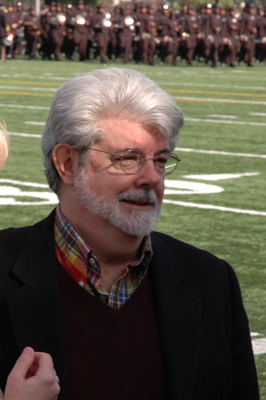 It's George Lucas!